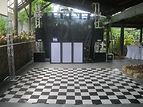 locação de pista xadrez para festa infantil, aluguel de tapete xadrez de dança