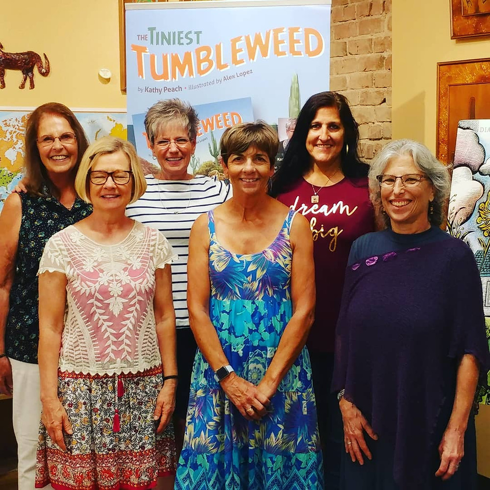 It is such a delight to work with these women, and you must visit Sibley's West.