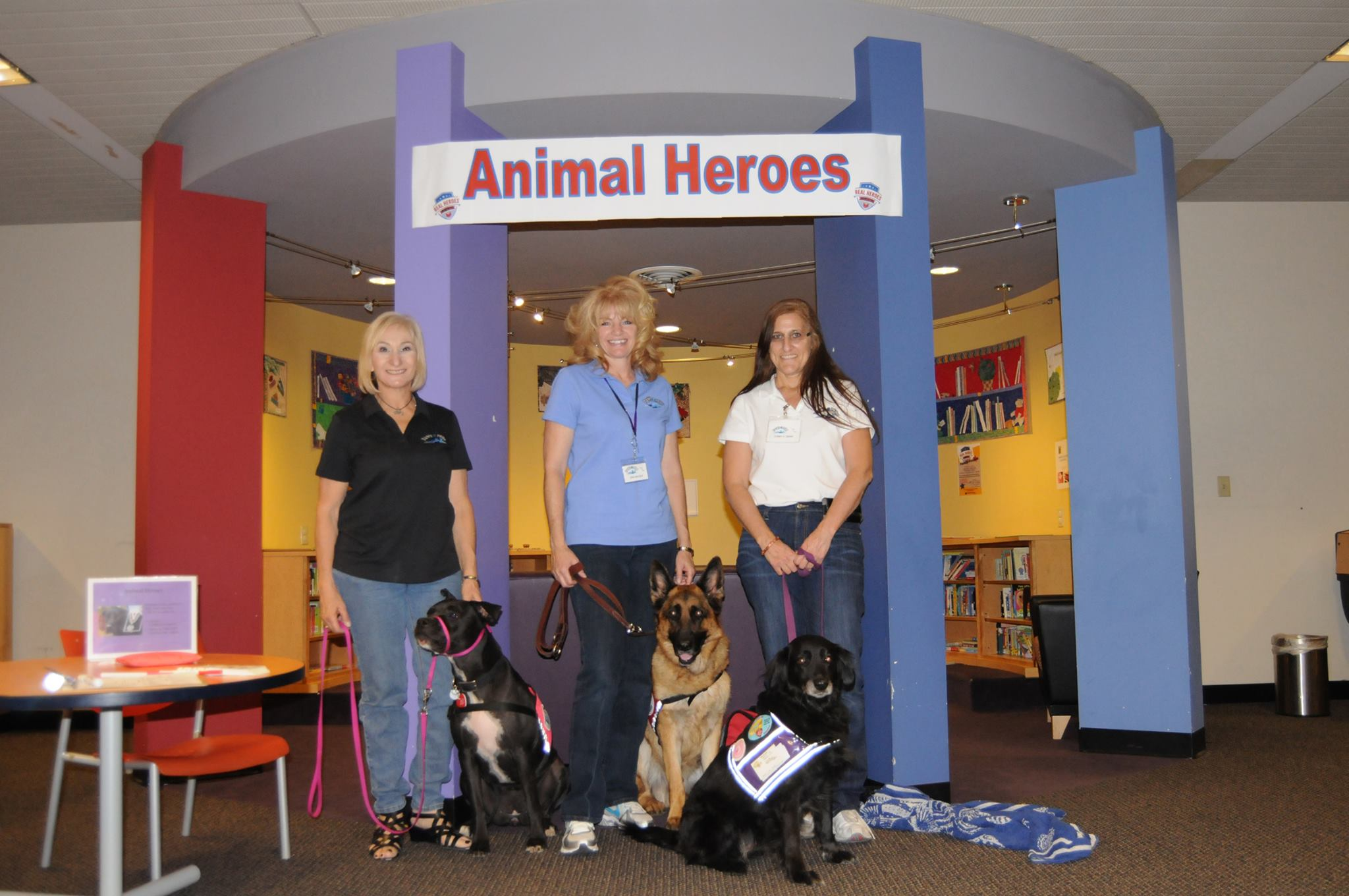Animal Heros_Library event