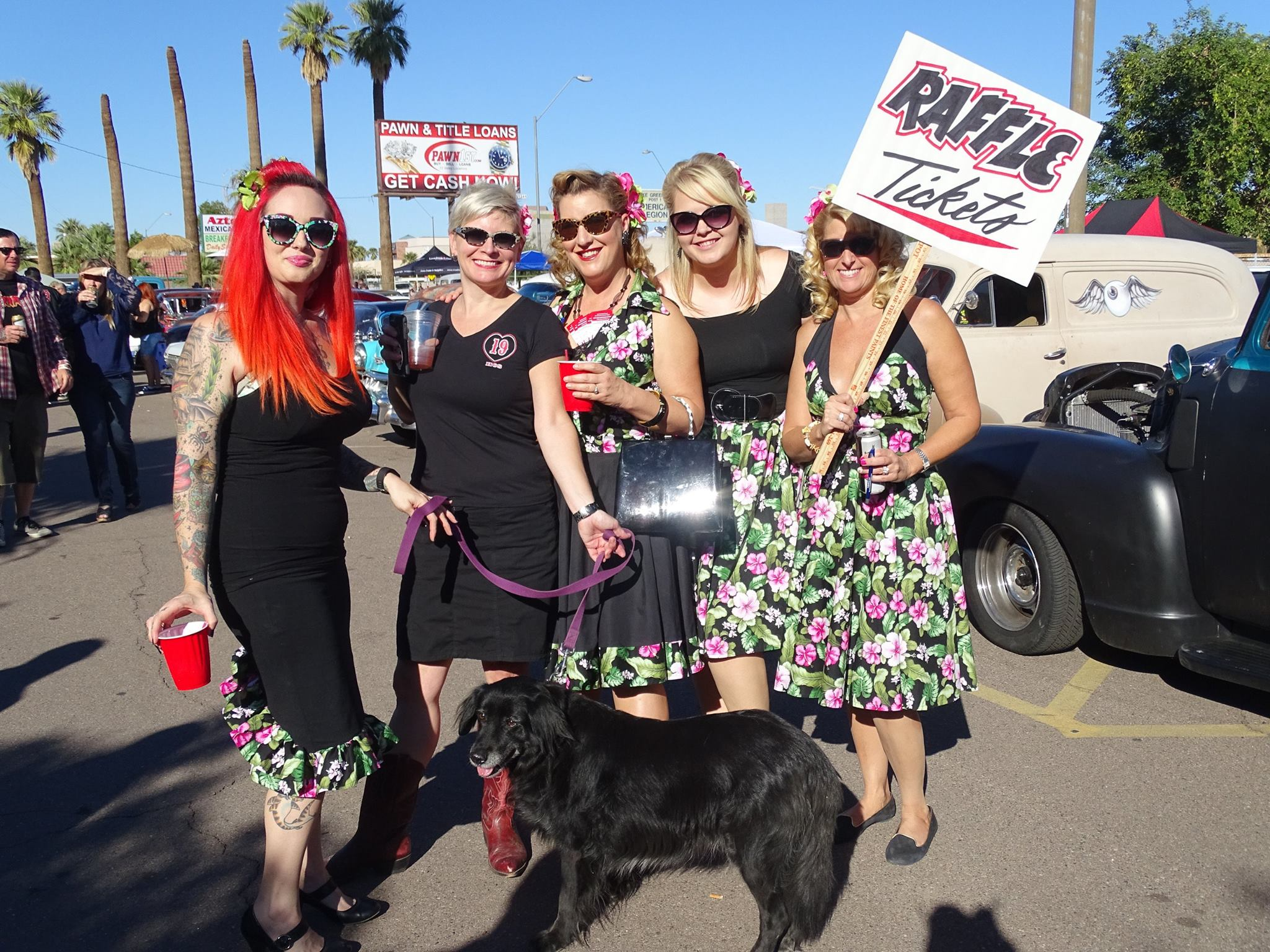 Rockabilly Girls with Jamie