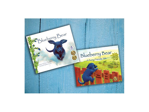Blueberry Bear Book Set