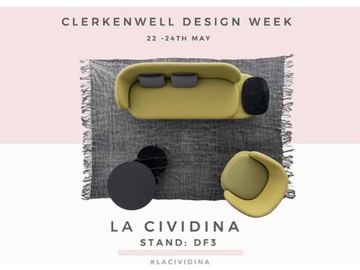 La Cividina @ClerkenwellDesignWeek 2018