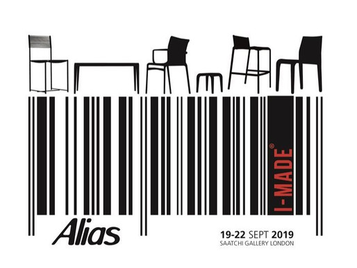 Alias ​​is among the brands of I-MADE, the Italian design exhibition of excellence