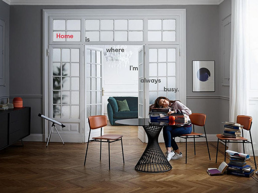 For those who never get tired of travelling, but always find their way back home #Calligaris