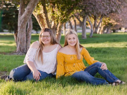 Kaitlyn & Carlice - Casper Senior Session