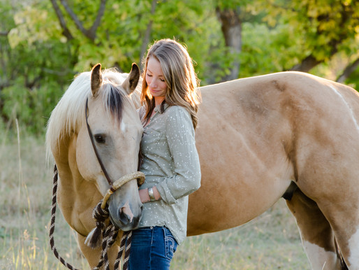 Cassie & Bolt | Sheridan, WY | Equine Session