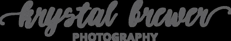 Krystal Brewer Photography Name Logo (80 percent Grey).png