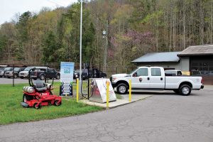 The Great Smoky Mountains National Park received new, propane-fueled equipment. Photo Courtesy of East Tennessee Clean Fuels Coalition