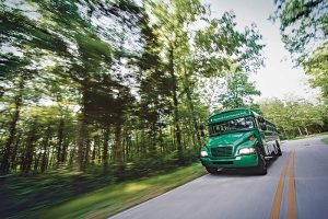 Some of the buses at Mammoth Cave National Park in Kentucky use propane autogas, according to the Propane Education & Research Council. Photo courtesy of PERC