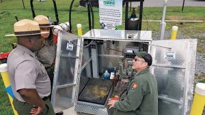 The Great Smoky Mountains National Park installed propane refueling infrastructure.. Photo courtesy of East Tennessee Clean Fuels