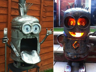 12 AMAZING Propane Tank Sculptures