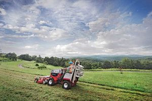The Propane Education & Research Council donated propane-powered equipment, including three Ventrac compact tractor mowers, to Blue Ridge Parkway in Virginia. Photo courtesy of PERC