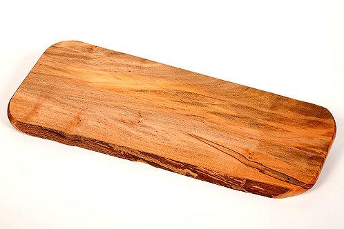 "18"" Ambrosia Maple serving tray/cutting board live edge"