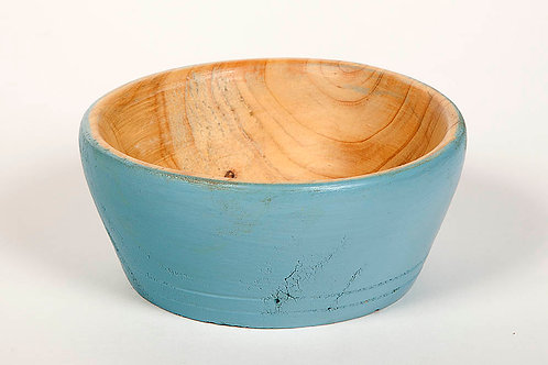 """5"""" Leland Cypress small stained bowl"""