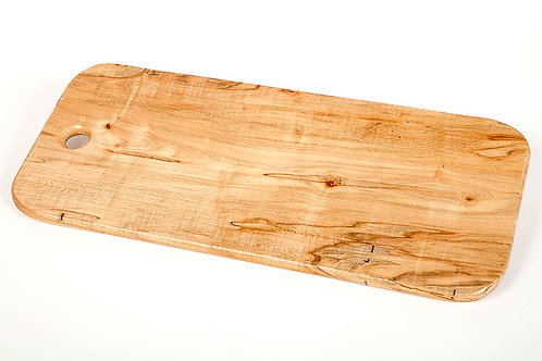 """24"""" Ambrosia Maple serving tray /cutting board can hang"""