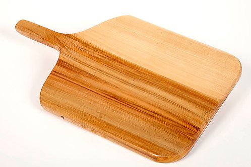 "18"" Maple lg serving tray/ cutting board w/ handle"
