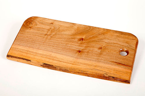 """18"""" Maple serving tray/ Cutting board w/live edge"""