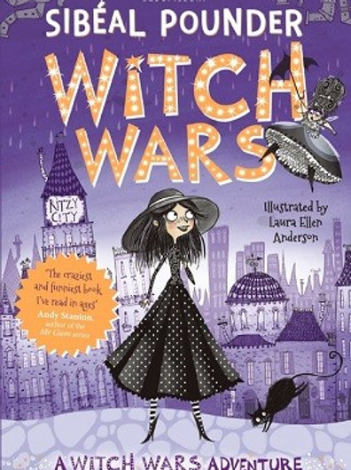 Witch Wars - (Paperback) Sibeal Pounder