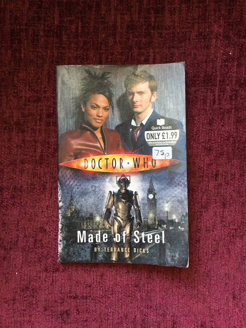 Quick Reads:  Doctor Who: Made of Steel - (Paperback) Terrance Dicks