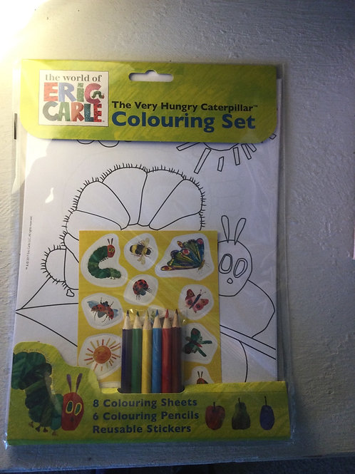 The Very Hungry Caterpillar Colouring Set