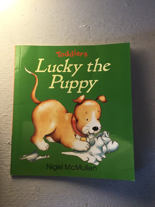 Lucky the Puppy by Nigel McMullen