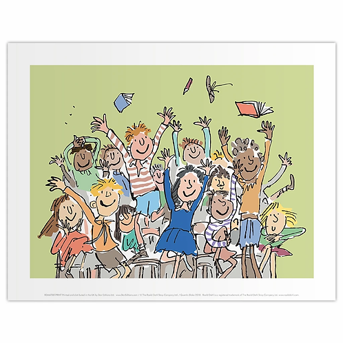 11 x 14 Print Matilda and friends