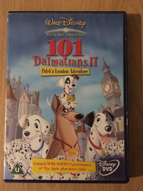 Walt Disney 101 Dalmatians II Patch's London Adventure DVD