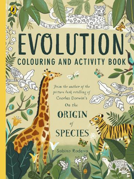 Evolution Colouring and Activity Book by Sabina Radeva