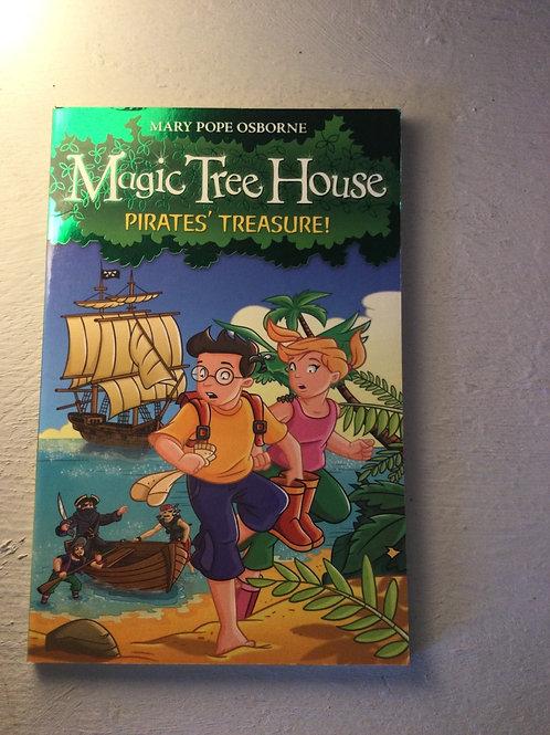 Pirates' Treasure by Mary Pope Osborne