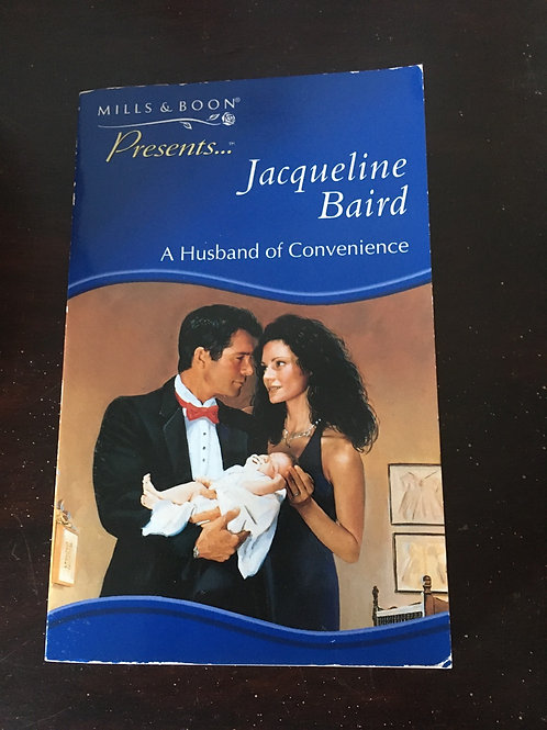 A husband of Convenience by Jacqueline Baird