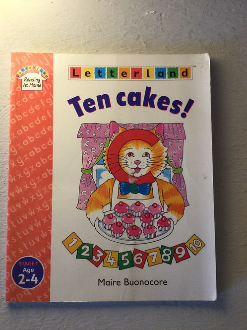 Ten cakes by Marie Bounocore