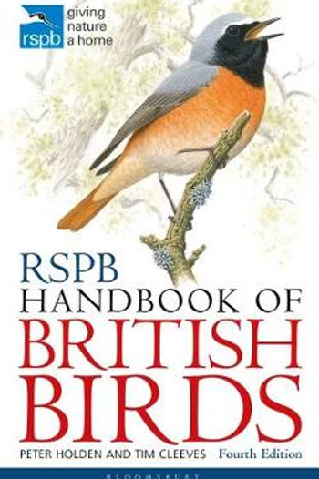 RSPB Handbook of British Birds (Paperback) Tim Cleeves, Peter Holden