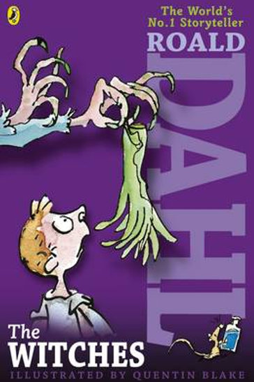 The Witches (Paperback) Roald Dahl (author), Quentin Blake (illustrator)