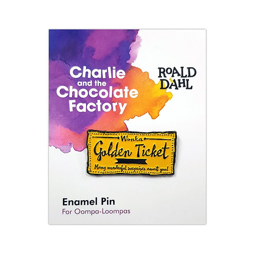 Roald Dahl Charlie and the Chocolate Factory Enamel Pin