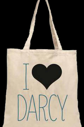 Darcy Heart Tote Bag: Babylit