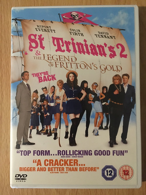 St Trinian's 2 - The Legend of Fritton's Gold DVD
