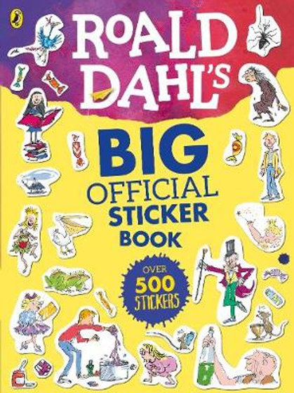 Roald Dahl's Big Official Sticker Book - Roald Dahl (Paperback)