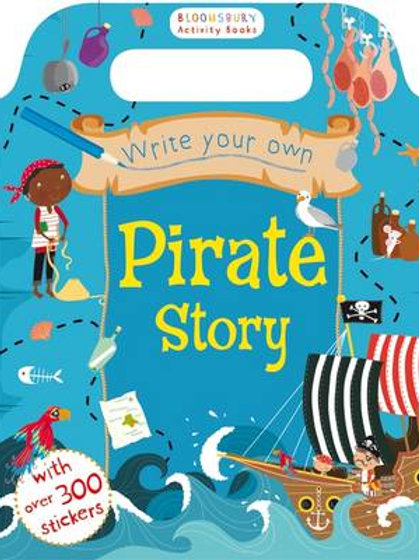 Write Your Own Pirate Story (Paperback)