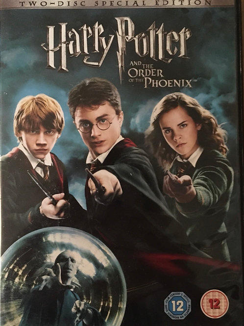 Two-disc Special Edition Harry Potter and the Order of the Phoenix DVD