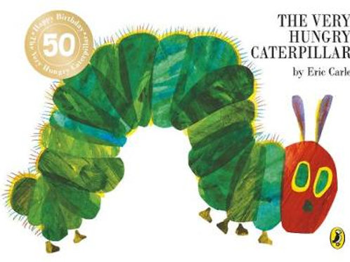 The Very Hungry Caterpillar (Board book) Eric Carle