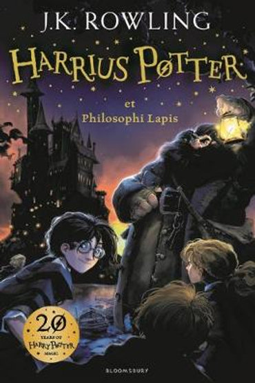 Harry Potter and the Philosopher's Stone (Latin): J.K. Rowling