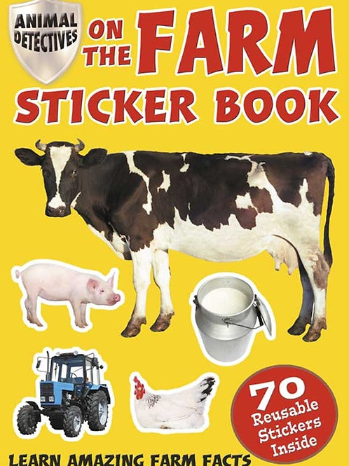 Animal Detectives on the Farm Sticker Book