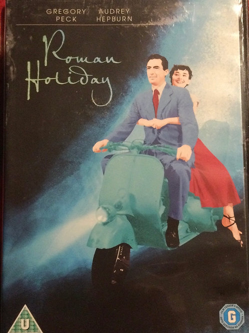 Roman Holiday DVD