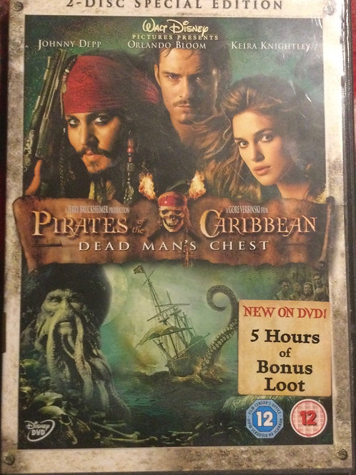 2 disc special edition  Pirates of the Caribbean: Dead Man's Chest dvd