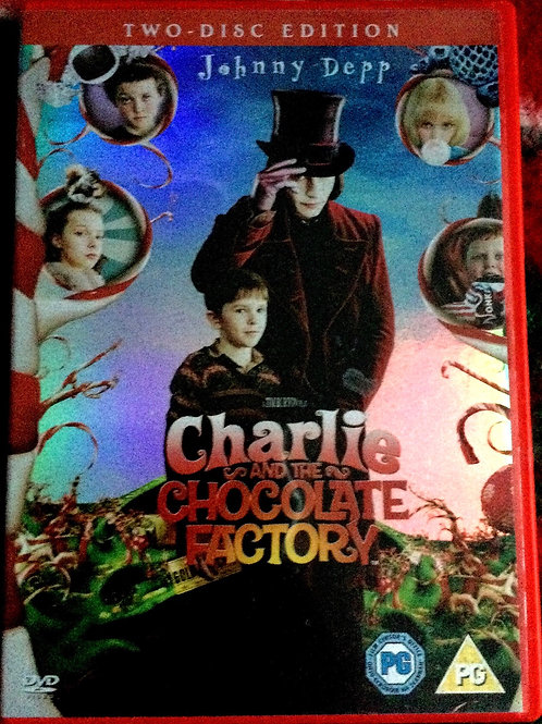 2 disc edition Charlie and the Chocolate Factory