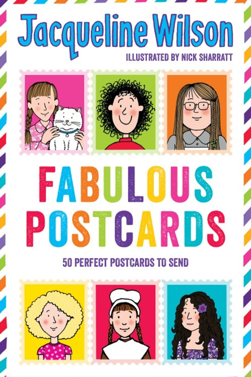 Fabulous Postcards Jacqueline Wilson illustrated by Nick Sharrat