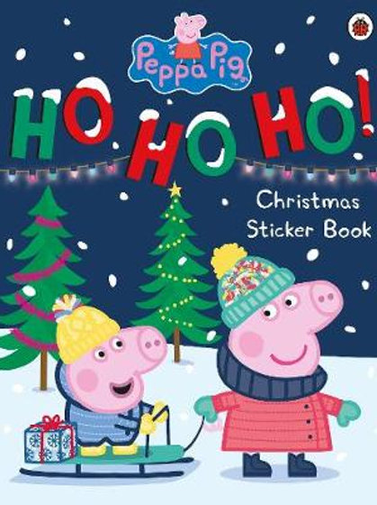 Peppa Pig: Ho Ho Ho! Christmas Sticker Book - Peppa Pig (Paperback)