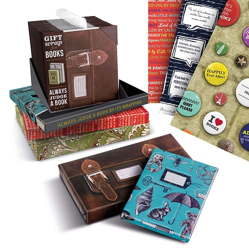 GIFT WRAP FOR BOOKS