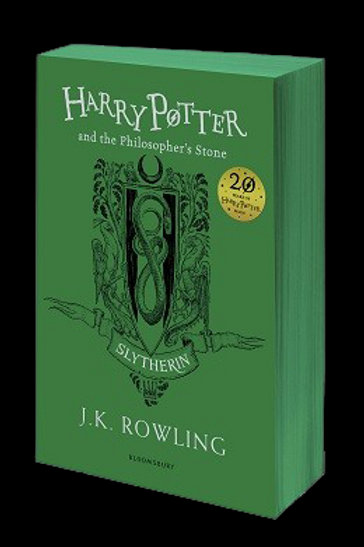 Harry Potter and the Philosopher's Stone - Slytherin Edition J. K. Rowling