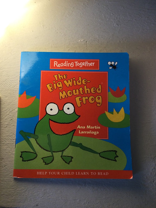 The Big Wide Mouthed Frog by Ana Martin Larranga